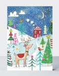 Advent Calendar Card - Christmas Reindeer - Rachel Ellen