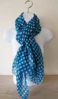 Blue & White Ladies Scarf - Gift Envy