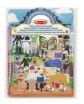 Melissa & Doug Riding Stable Horse Puffy Sticker Activity Book