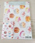 Cupcake Cakes Gift Wrapping Paper 2 Sheets & 2 Tags