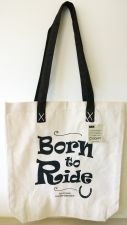 Horsey Girl Born To Ride Shopper Bag