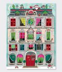 Advent Calendar - Christmas House - 33cm x 24cm - Rachel Ellen