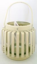 Cream Lantern Tealight Holder Wedding Favour