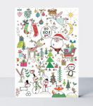 Advent Calendar Card - Christmas Icons - Rachel Ellen