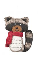 Raccoon Hanging Decoration - 14cm