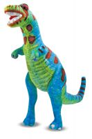 Lifelike T-Rex Dinosaur Plush Soft Toy - Melissa & Doug