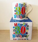 30th Birthday Mug - Male - Happy 30th Birthday