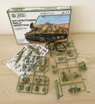 Sturmtiger Self Mortar Tank Model Kit Scale 1:72 Build & Play