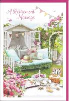 Retirement Card - Female - Garden Picnic - Retirement