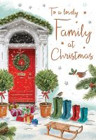 Christmas Card - Lovely Family - Regal