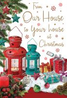 Christmas Card - Our House to Your House - Regal