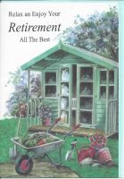 Retirement Card - Male - Summer House Garden