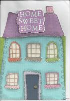 Home Sweet Home - House - New Home Greetings Card