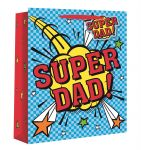 Super Dad Gift Bag - Medium - Gift Envy - 25cm x 21.5cm