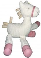 Horse Cream Knitted Soft Toy