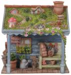 Garden Shed - Fairy Garden - Indoor or Outdoor - Miniature World