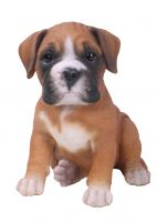 Boxer Puppy Dog - Lifelike Ornament Gift - Indoor or Outdoor - Pet Pals