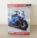 Kawasaki Ninja ZX-6R Diecast Metal Model Kit Scale 1:12