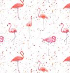 Flamingo Wrapping Paper 2 Sheets & Tags - Arty Penguin