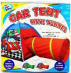 Car Play Tent with Tunnel