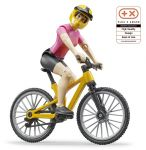 Bike Bicycle Mountain & Cyclist Figure - Bruder 63111 Scale 1:16 NEW RELEASE