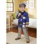 Melissa & Doug Police Officer Fancy Dress Outfit