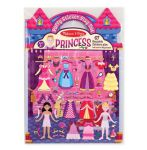 Melissa & Doug Princess Reusable Puffy Stickers