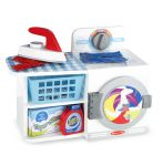 Melissa & Doug Wash Dry & Iron Wooden Play Set