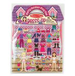 Melissa & Doug Dress up Girls Reusable Puffy Stickers