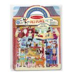 Melissa & Doug Pets Puffy Sticker Activity Book