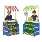 Melissa & Doug Grocery Store Market Stall Shop Pretend Play