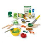 Melissa & Doug Salad Slice & Toss 50 Piece Pretend Play Set
