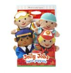 Melissa & Doug Jolly Helpers Hand Puppet Set of 4