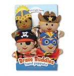 Melissa & Doug Bold Buddies Hand Puppet Set of 4