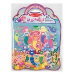 Melissa & Doug Mermaid Puffy Sticker Activity Board