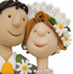 Wedding Day Card - Mr & Mrs - Headshots One Lump Or Two