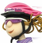 Birthday Card - Female Bicycle Belle Bike One Lump Or Two