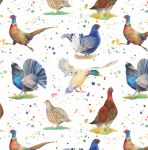 British Game Bird Pheasant Wrapping Paper Sheets & Tags - Arty Penguin