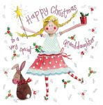 Christmas Card - Granddaughter Fairy - Sparkle - Alex Clark