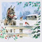 Christmas Card - Donkey Design - Special Time of Year - Ling Design