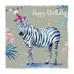 Birthday Card - Zebra - The Wildlife Ling Design