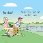 Greetings Card - Golf New Clubs? - Funny Joke - Twizler