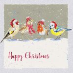 Charity Christmas Card - Tweet Tweet Birds - Ling Design