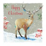 Christmas Card - Stag - Winter in the Forest - The Wildlife Ling Design