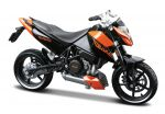 KTM 690 Duke Special Edition Motorbike Scale 1/18
