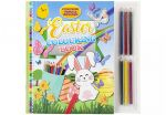 Easter Kids Colouring Book with 6 Pencils