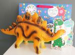 Dinosaur Stegosaurus Happy Birthday Gift, Card & Bag