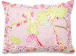 Baby Cot Bed Pillow Cushion - Georgia Giraffe - NEW