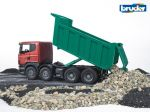 Scania R-Series Tipper Truck - Bruder 03550 Scale 1:16