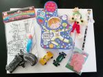 Boys Unidentified Objects Curiosity Activity Bits & Bobs Astronaut Tin Gift - 8 Items